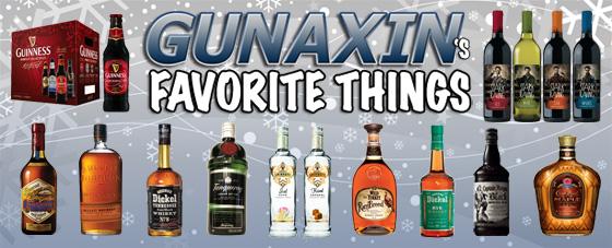 Favorite Things Booze