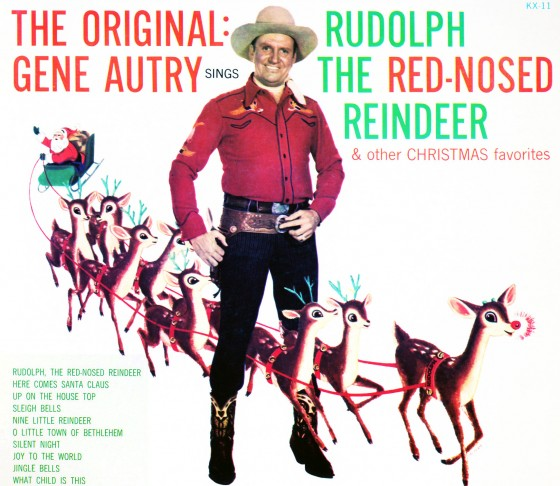 Gene Autry Reindeer 560x486