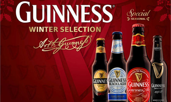 Guinness Winter Selection