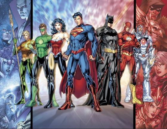Justice League 560x431