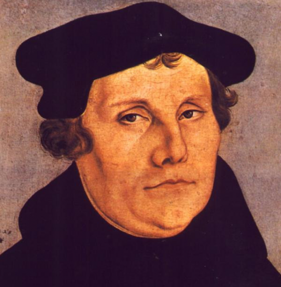 Martin Luther 560x573