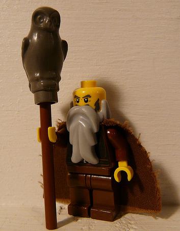 Radagast the brown lego