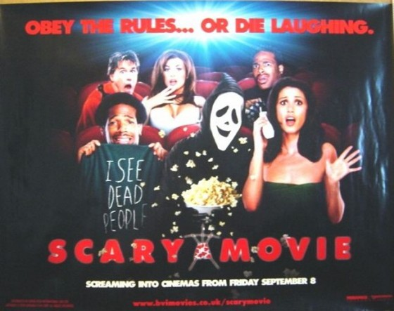 Scary Movie Poster 560x443