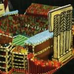 Ten Great Gingerbread Stadiums
