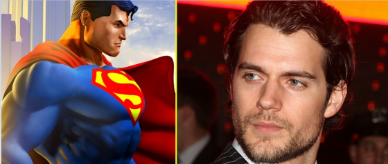 Superman Cavill 560x238