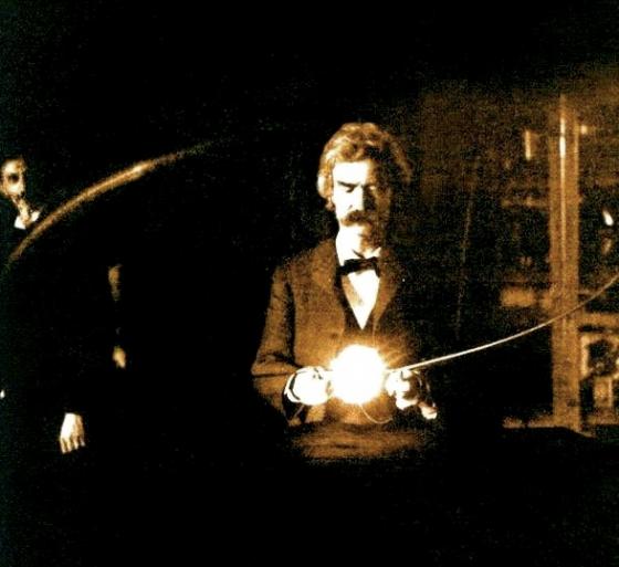 Tesla and Twain 560x513