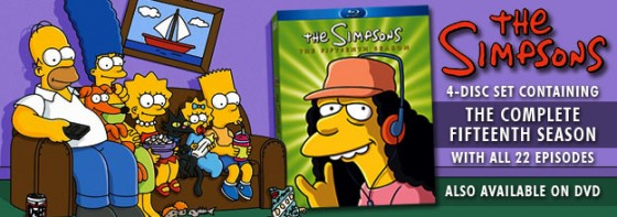 The Simpsons Season 15 560x197