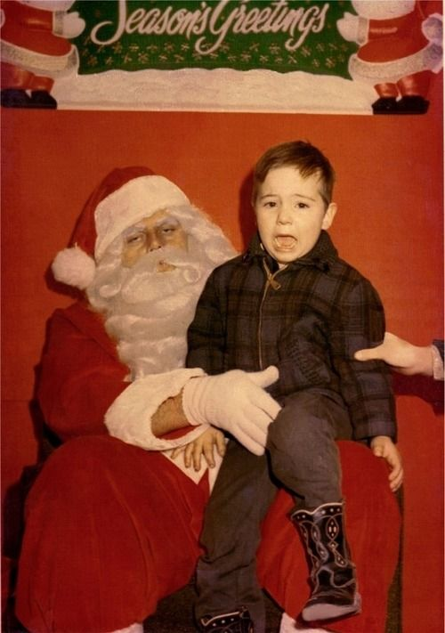 creepy Santa bad touch