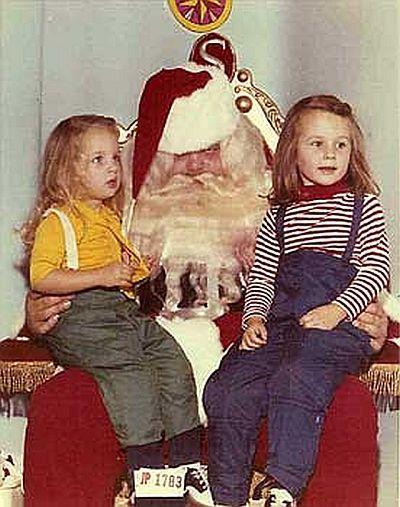 creepy santa angry and drunk