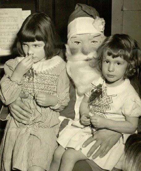 creepy santa mask