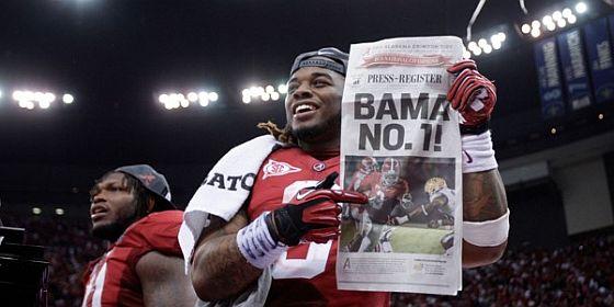 Alabama number 1