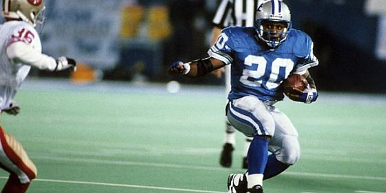 Barry Sanders no ring