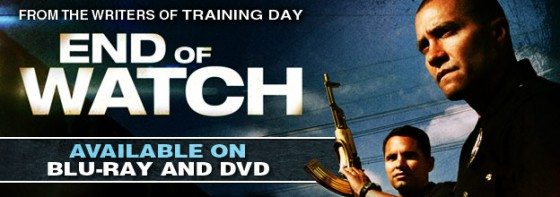End of Watch BluRay 560x197