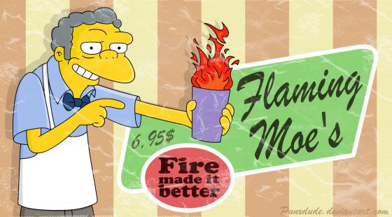 Flaming Moe 560x310