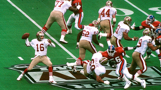 Joe Montana Jerry Rice and the San Francisco 49ers Destroyed John Elway and the Denver Broncos in Super Bowl XXIV 560x315