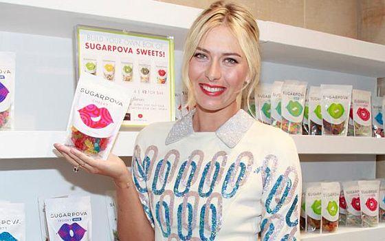 Maria Sharapova Candy