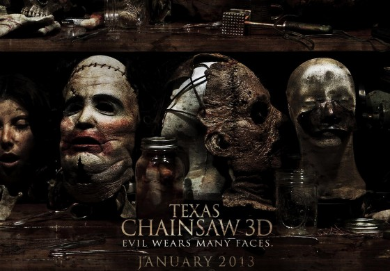 Texas Chainsaw 3D Quad Poster 560x390