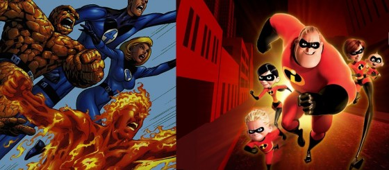 fantastic four the incredibles 560x245