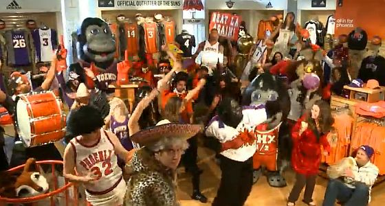 Harlem Shake Phoenix Suns