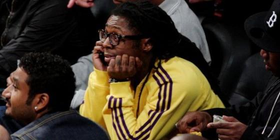 Lil Wayne Lakers 560x280