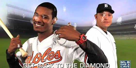 MLB diamonds parody