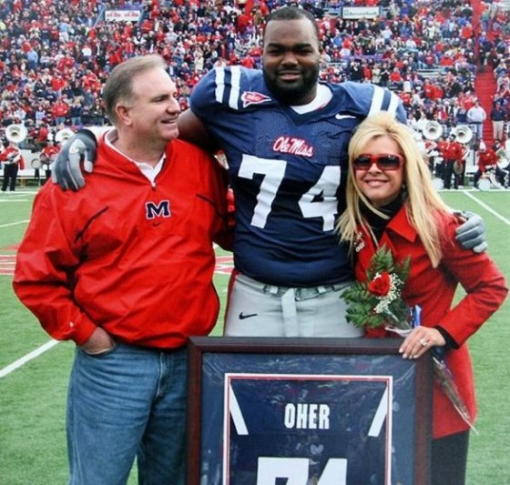 Michael Oher Ole Miss 560x533