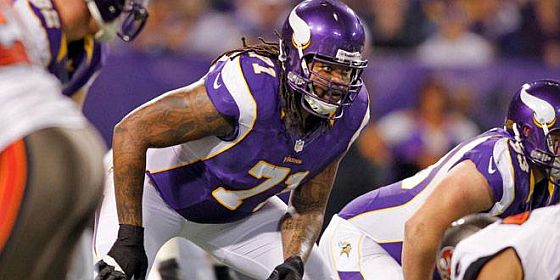 Phil Loadholt Vikings