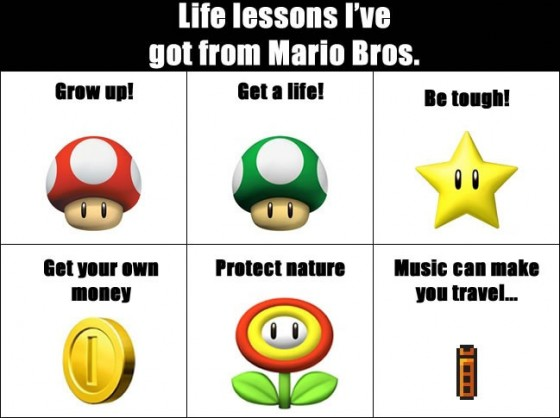Life lessons Ive got from Mario Bros1 560x418