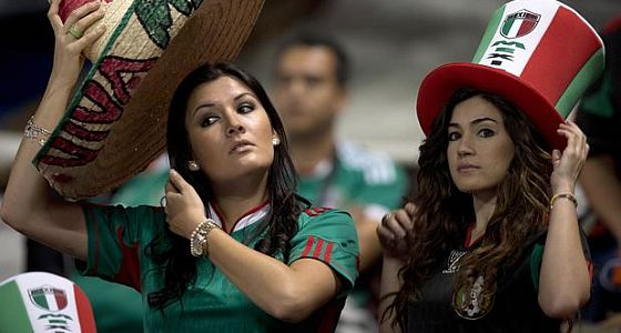 Soccer fans mexico