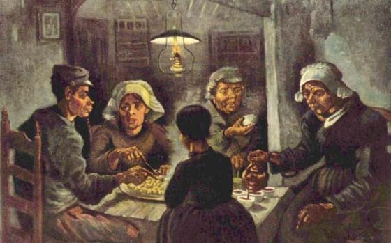 The potato eaters 560x349