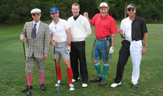 Crazy Golf Clothes