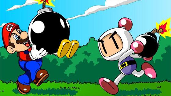 Mario vs Bomberman