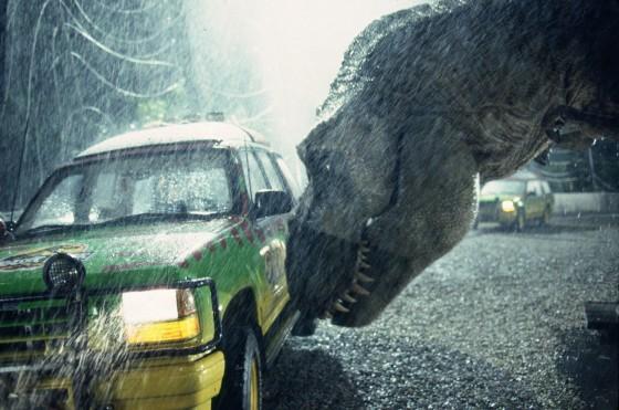 rex and car