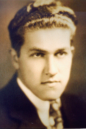 August Derleth portrait in youth
