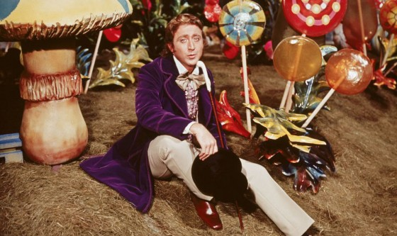 Gene Wilder in Willy Wonka the Chocolate Factory 1971 Movie Image 2 560x333