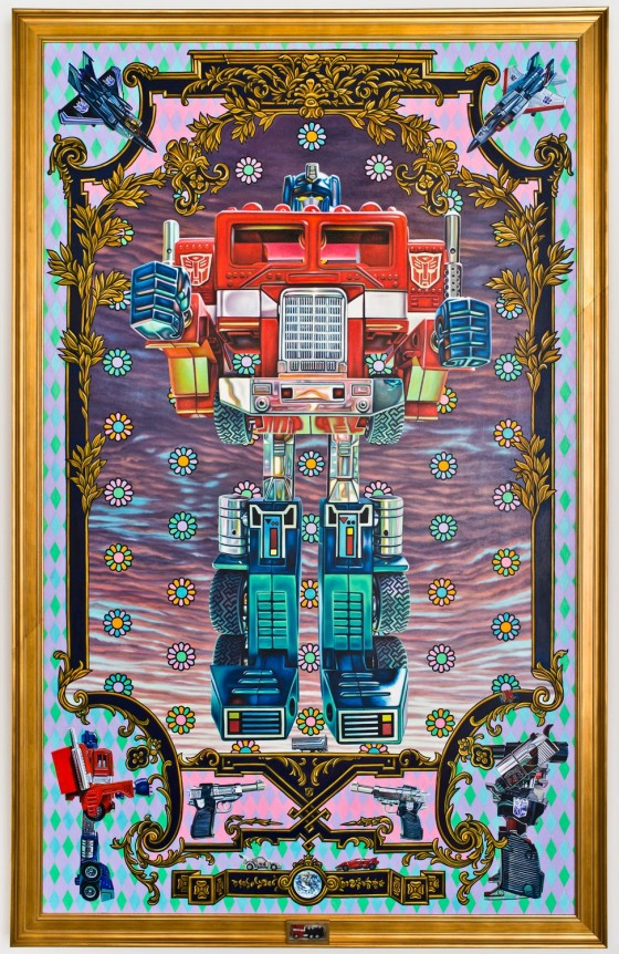 Optimus Prime Autobot Robert Burden 560x862