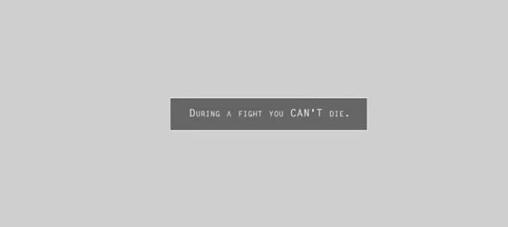 You cant die