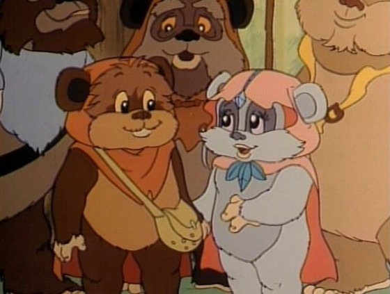 ewoks cartoons 560x423