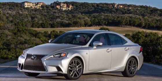 2014 Lexus IS Exterior 03 560x280