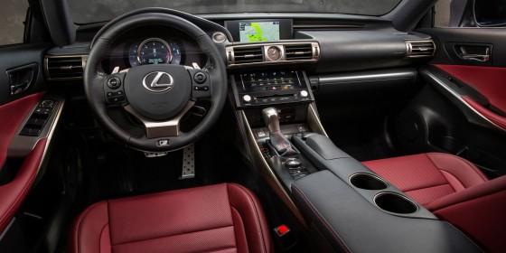 2014 Lexus IS Interior 03 560x280