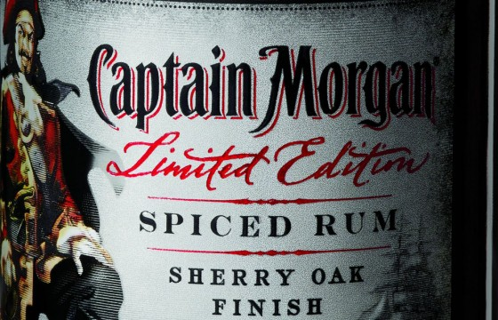 Captain Morgan Sherry Oak Finish Spiced Rum Limited Edition 560x360