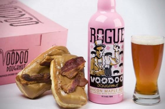 Voodoo Doughnut Bacon Maple Ale by Rogue Ales 560x373