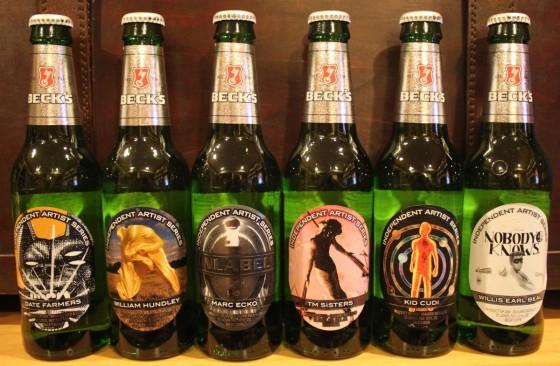 Becks Beer Labels 560x366