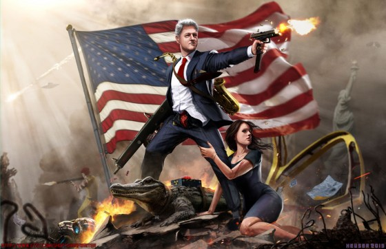 Bill Clinton Legend 560x362
