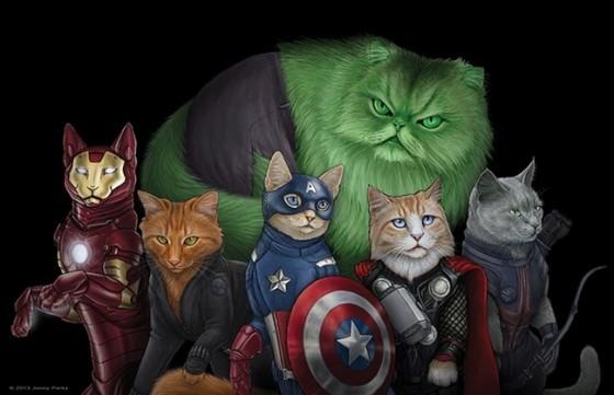 Cat Illustration Jenny Parks 01 560x361