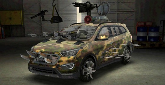 Hyundai SantaFe SANTA FLEEEEE Zombie Machine 560x291