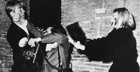 Barillari rino Mickey Hargitay vatussa vitta Via veneto