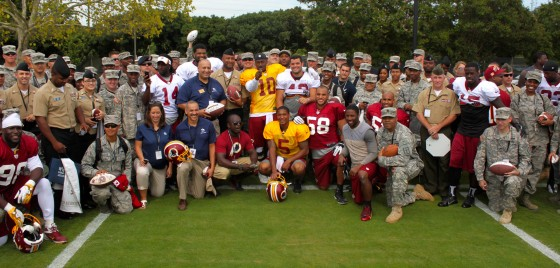 Redskins Military Group Shot 560x268