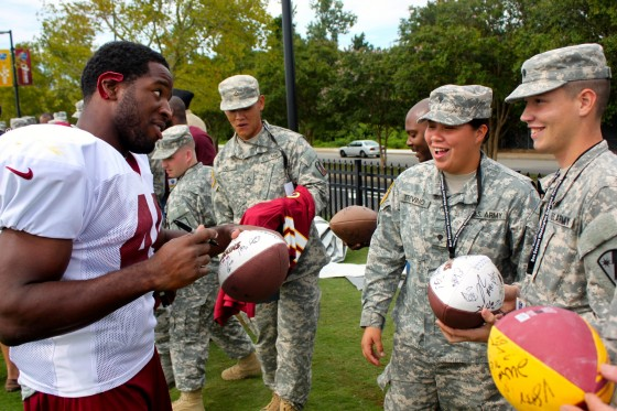 Redskins Military Training Camp 54 560x373