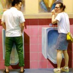 Chinese Urinal Users Face Awkward Fine for Poor Aim